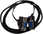 RS232 female to female null modem cable